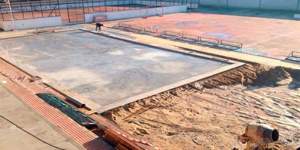 Proceso de Instalación de pista de pádel
